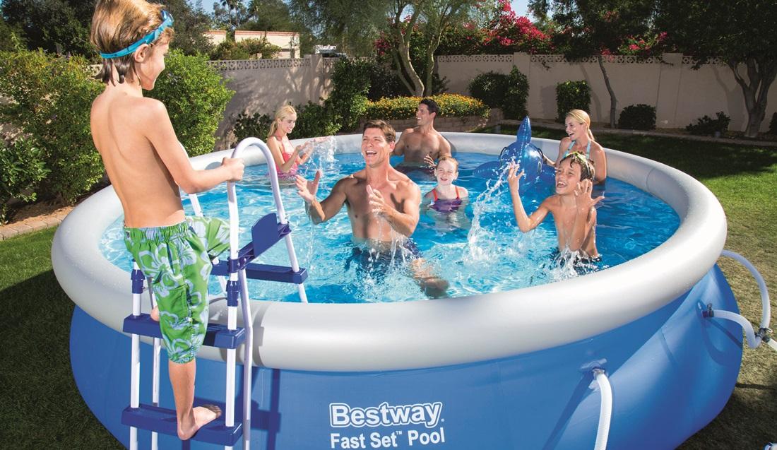 Basen rozporowy bestway fast set pool