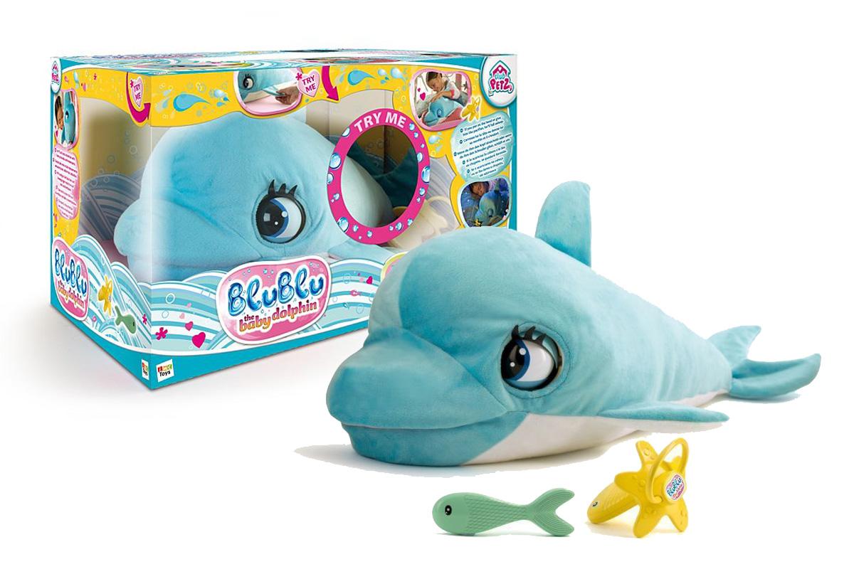 Interaktywny delfinek Blu Blue