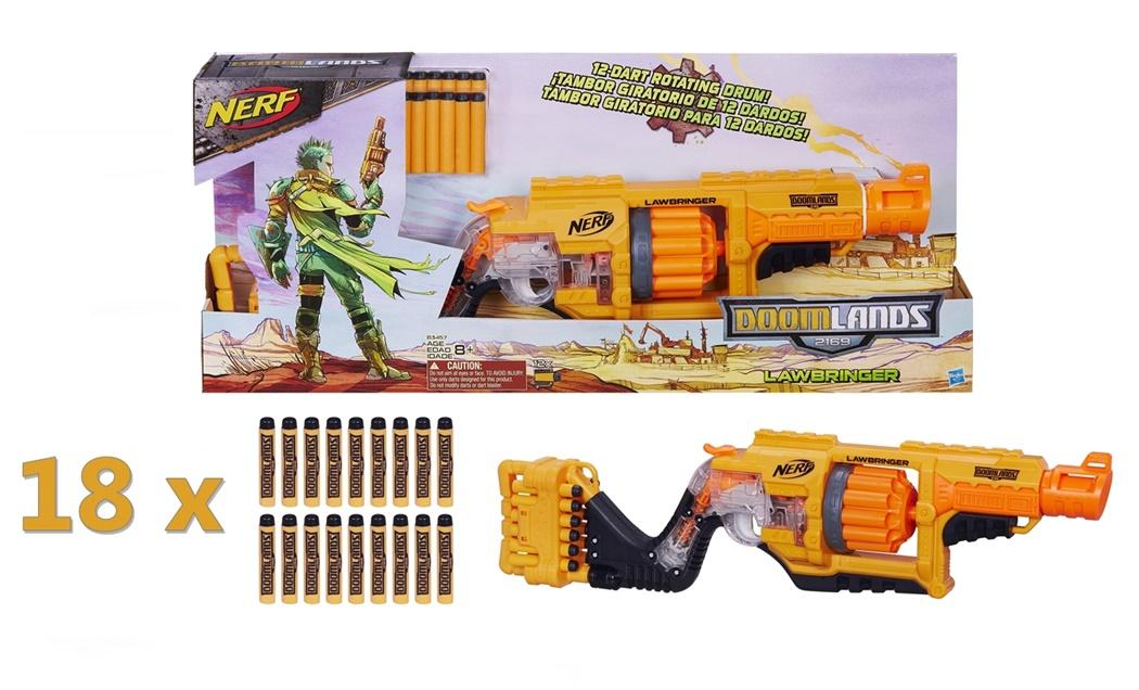 Nerf karabin N-strike Doomlands Lawbringer
