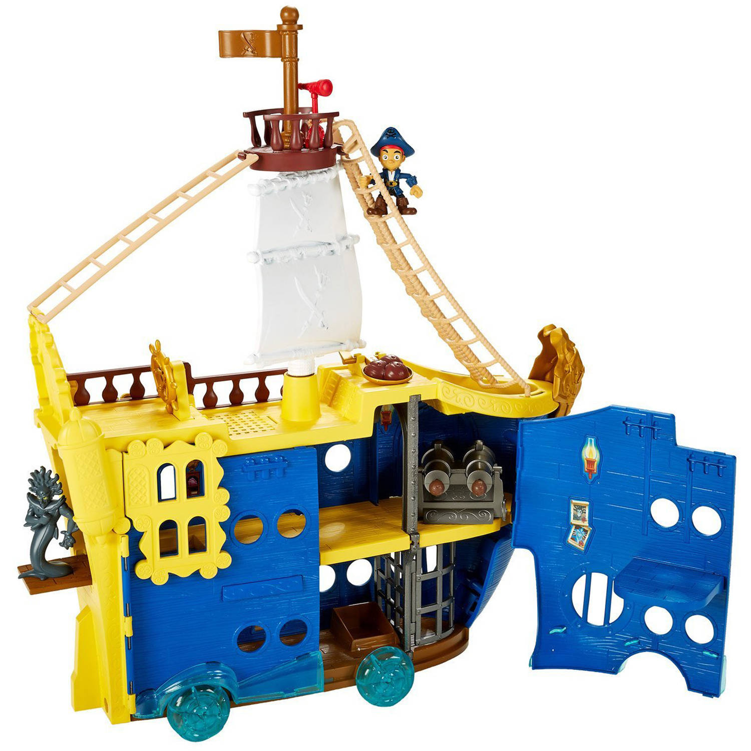 Statek Colossus Jake i Piraci Fisher Price